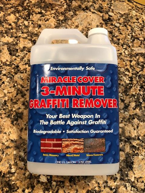 Miracle Cover Graffiti Remover